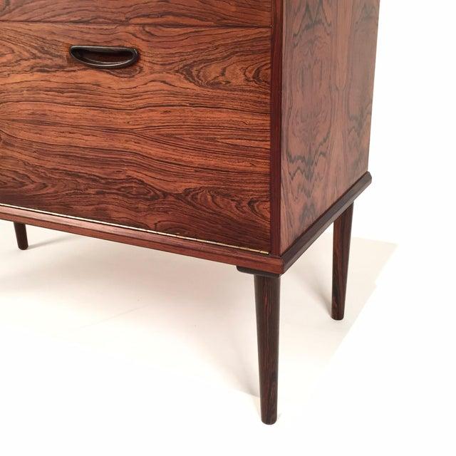 Vintage Danish Rosewood Cabinet - Image 8 of 10