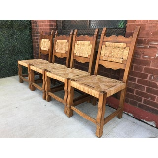 1960s Vintage Hand Woven Hacienda Chairs - Set of 4 Preview