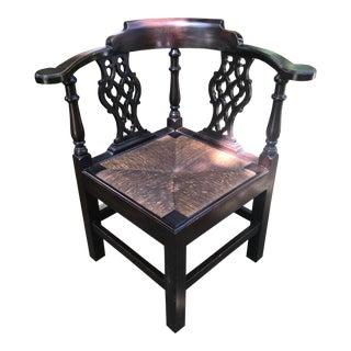 1930s Vintage Kittinger Corner Chair For Sale
