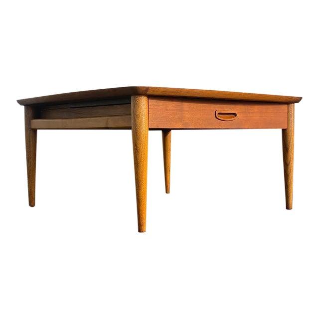 Mid Century Modern Walnut Lane Coffee Table Chairish