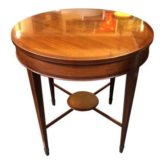 1990s American Classical Historic Charleston Collection Accent Table