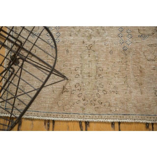 "Vintage Distressed Meshed Rug - 2'5"" X 4'3"" For Sale - Image 4 of 10"