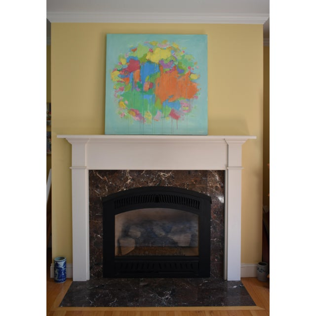 """Modern """"Bouquet- Out of Many, One"""" Abstract Painting by Stephen Remick For Sale - Image 11 of 13"""