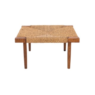 George Nakashima Fitch Stool or Ottoman For Sale