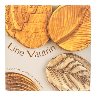 Line Vautrin Sculptor, Jeweller, Magician Book For Sale