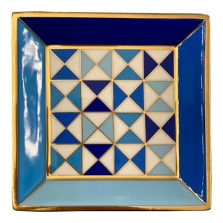 Jonathan Adler Sorrento Square Catchall Tray For Sale