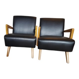 Mid-Century Modern Lounge Chairs - Set of 2