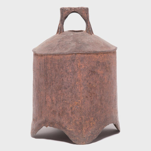 19th Century Provincial Chinese Iron Bell For Sale In Chicago - Image 6 of 6