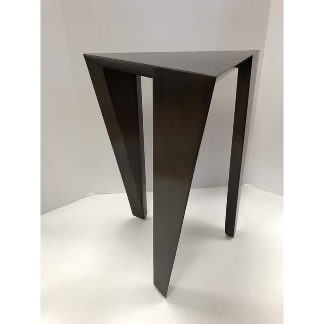 Modern Set of 3 Modern Nesting Tables For Sale - Image 3 of 6