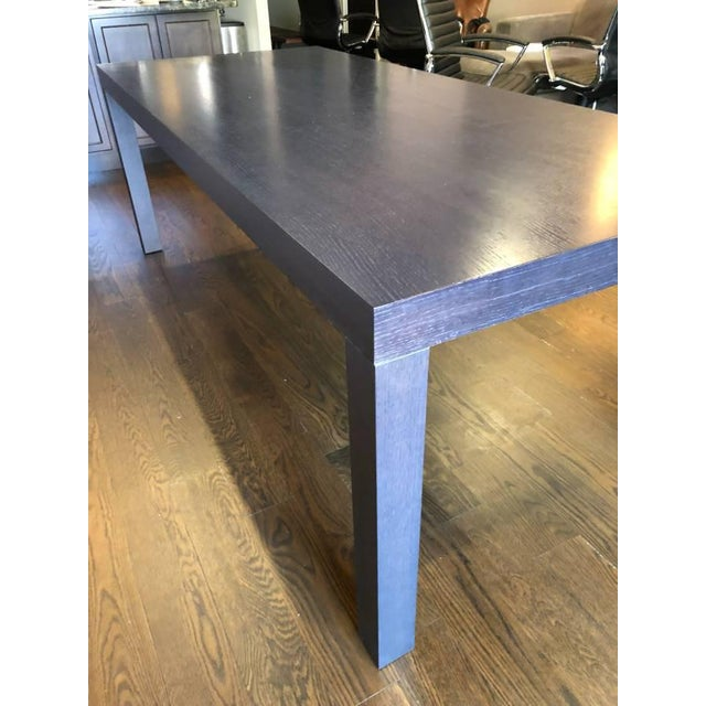 Ligne Roset Walnut Dining Table For Sale In New York - Image 6 of 11