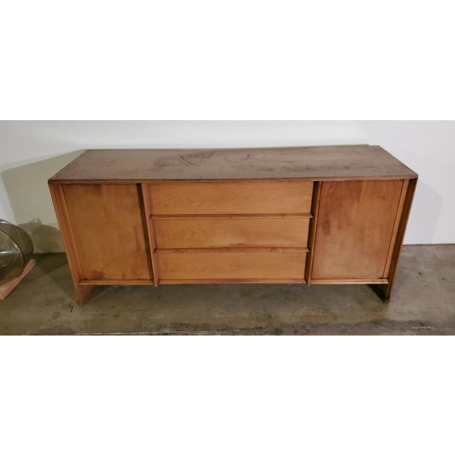 1950s T. H. Robsjohn-Gibbings Credenza for Widdicomb For Sale - Image 12 of 13