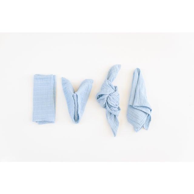 Tuscan Organic Cotton Napkins - Set of 6 For Sale - Image 4 of 5