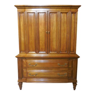 Vanleigh Furniture Regency Cherry Tall Chest For Sale