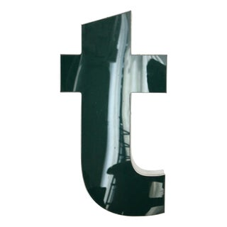 """Lower Case """"T"""" Channel Letter For Sale"""