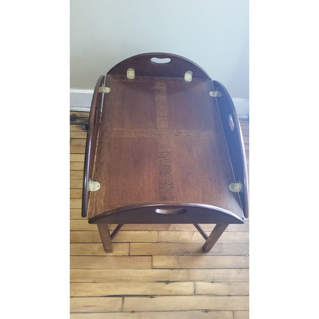 Vintage Mahogany Butler's Table - Image 6 of 10