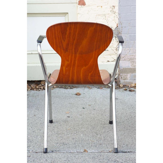 Obo Arm Chairs With Rounded Back - Set of 6 - Image 3 of 3