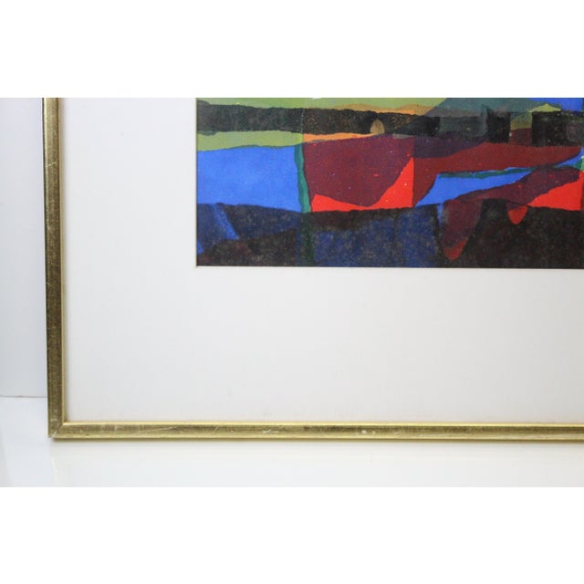 Abstract Abstract Framed Rainbow Print For Sale - Image 3 of 8