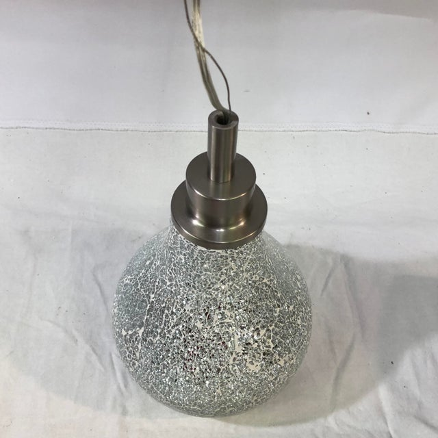 Contemporary Kichler Crystal Ball Mini Ceiling Pendant For Sale - Image 3 of 13