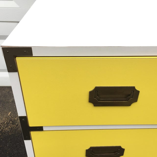 Mid-Century Modern Campaign Desk - Image 6 of 11