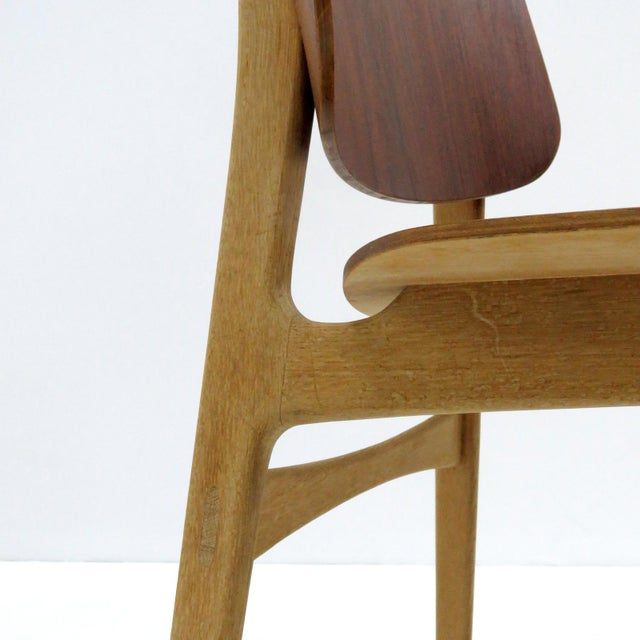 Set of 5 Børge Mogensen Dining Chairs, 1950s For Sale - Image 10 of 13