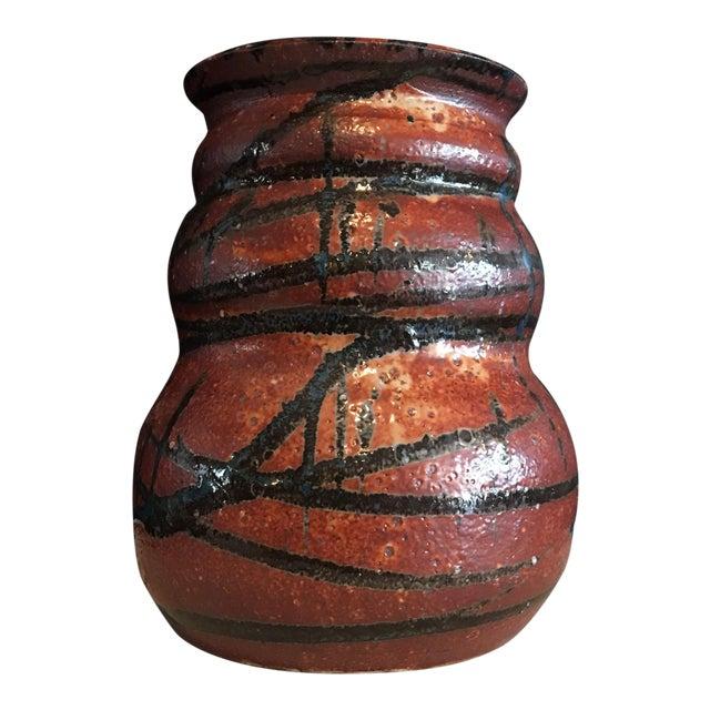 Stunning Signed Studio Glazed Pottery Vase - Image 1 of 7