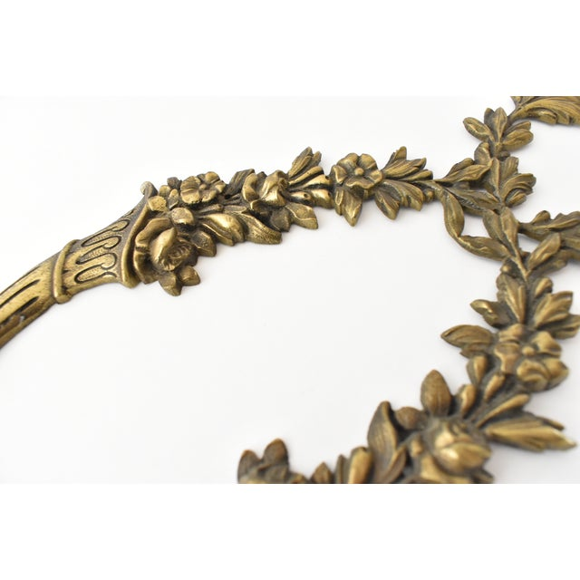 Antique French Ormolu Cornucopia Garland Ornament For Sale In San Francisco - Image 6 of 8