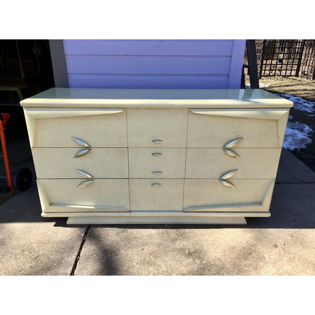 Mid-Century Kent Coffey Barnsley Lowboy Credenza For Sale - Image 10 of 11