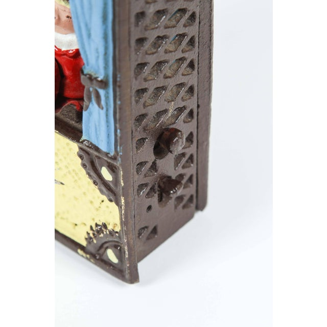 Cast Iron Punch and Judy Bank For Sale In Los Angeles - Image 6 of 8