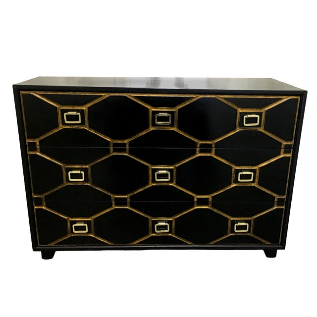 Dorothy Draper Black Viennese Collection Dresser For Sale - Image 9 of 9