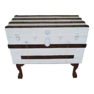 Antique Trunk Console