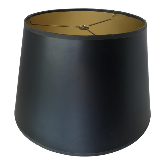 Gilt hollywood lamp shade chairish gilt hollywood lamp shade aloadofball Gallery