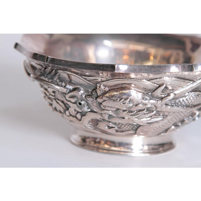 Japanese Silver Bowl For Sale In Dallas - Image 6 of 13