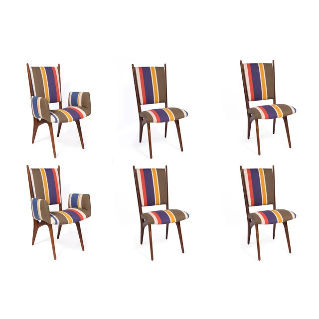 1950s Vintage Vladimir Kagan Studio Dining Chairs- Set of 6 For Sale - Image 10 of 10