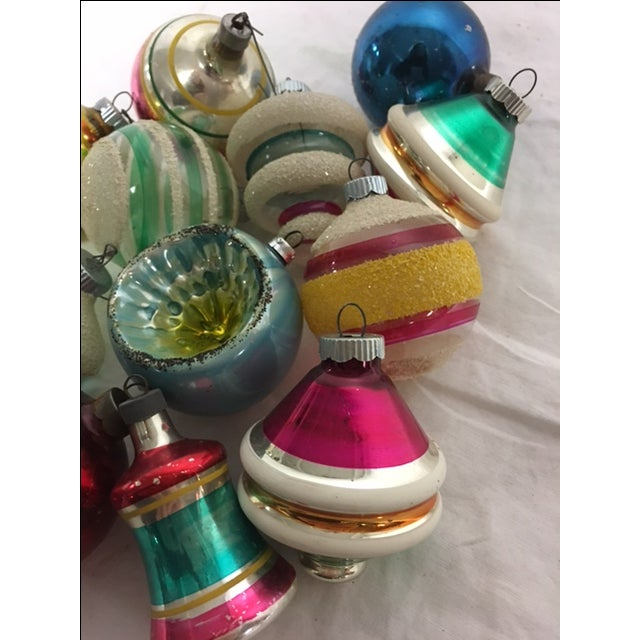 Vintage Assorted Christmas Ornaments - Set of 12 - Image 6 of 8