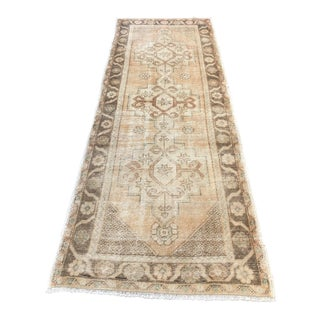 Antique Oushak Runner Rug - 2′11″ × 8′5″