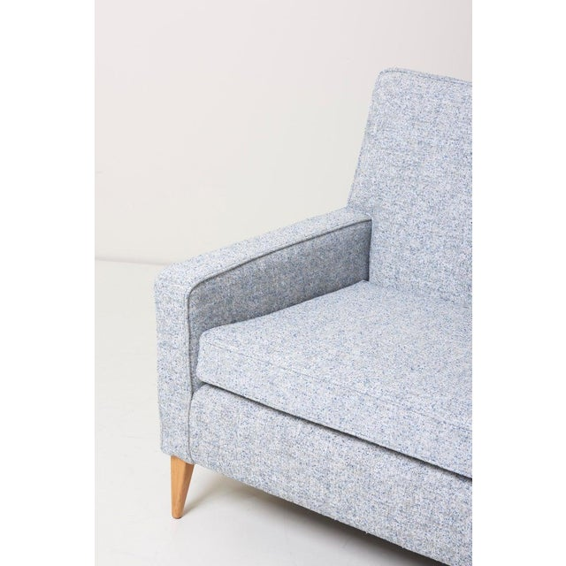 Paul McCobb Sectional Corner Sofa Custom Craft/ Planner Group Newly Upholstered For Sale - Image 6 of 13