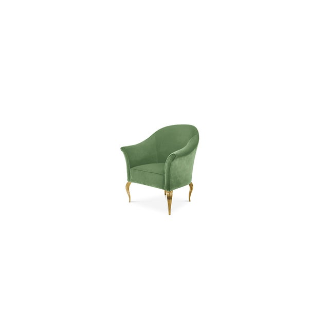 Gold Mimi Chair From Covet Paris For Sale - Image 8 of 10