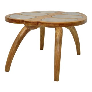 "1960s Sculptural ""Turtle"" Center Table For Sale"
