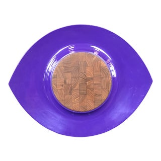 Purple Lacquer Dansk Festivaal Tray by Jens Quistgaard For Sale