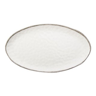 Kenneth Ludwig Chicago Veranda Melamine Oval Tray For Sale
