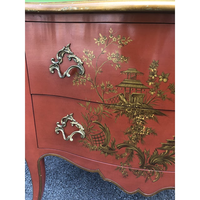 Baker Furniture Company Chinoiserie Chest of Drawers by Baker Furniture For Sale - Image 4 of 13