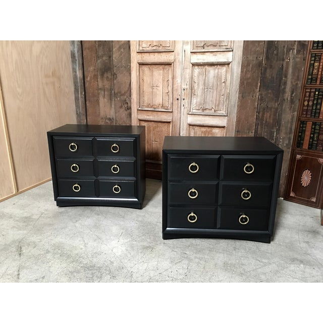 Widdicomb Robsjohn-Gibbings for Widdicomb Chests - a Pair For Sale - Image 4 of 4