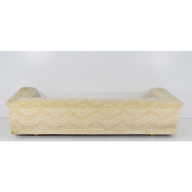 Mid-Century Modern Edward Wormley for Dunbar Party Sofa Model 5407, Pair Available For Sale - Image 3 of 10
