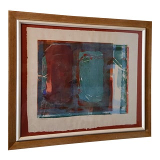 Abstract Expressionist Monotype