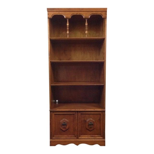 Antique Carved Oak Bookcase - Image 1 of 4