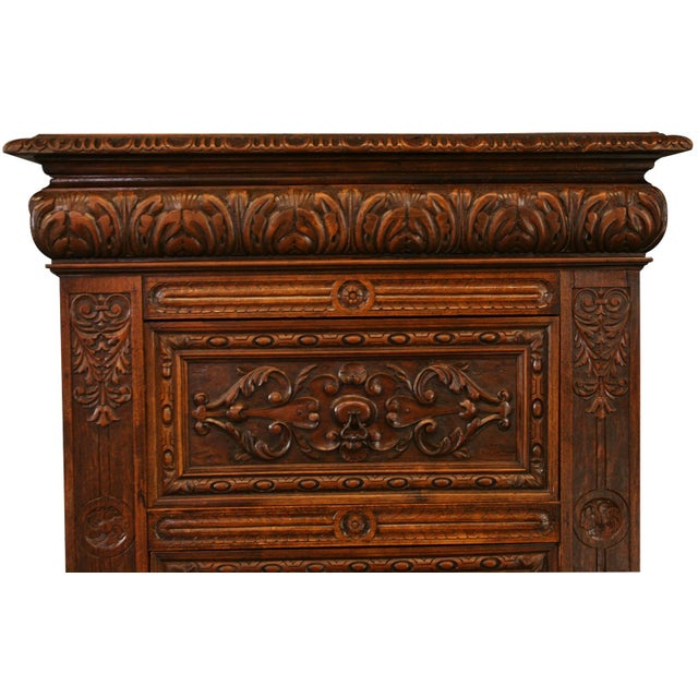 Antique French Renaissance-Style Chest of Drawers - Image 3 of 8