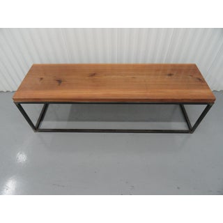 Wood and Metal Coffee Table Preview