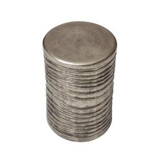 Tara Stool, Vintage Silver For Sale
