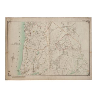 Vintage Map of Pleasantville, New York For Sale