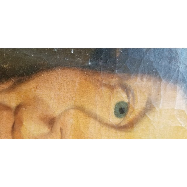 19th Century Oil Painting For Sale - Image 4 of 7